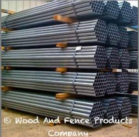 10 Ft Steel Posts For Wood Fences New 13gauge Galvanized