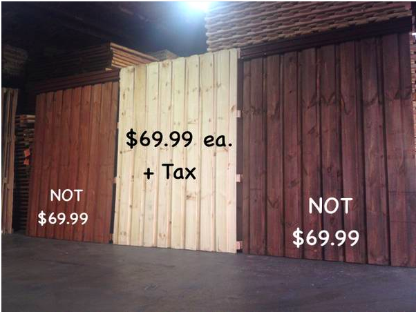8 ft Tall Board-On-Board Pre-Fab Wood Fence Panels $69.99 – Texas Fence  Supply - 8 Ft Tall Board-On-Board Pre-Fab Wood Fence Panels $69.99 €� Texas