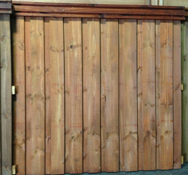 Picket Fence Stain Colors