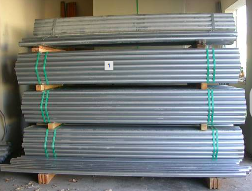 9 ft 16 Gauge Steel Posts for Wood Fences Galvanized New